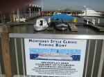 Refurbished Old monterey fishing boat donated by Pittsburg museum