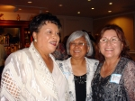 Class of 65:  Evelyn, Leticia, Trudy